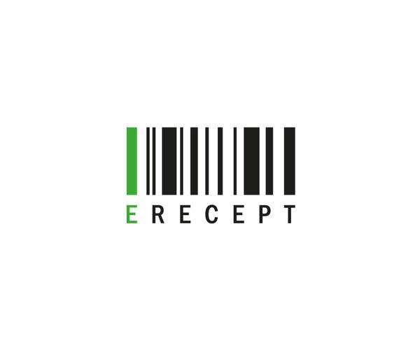 e-Recept - logo barevne