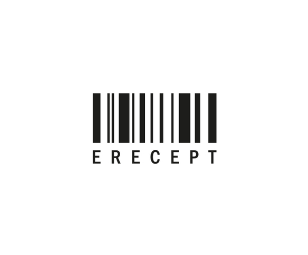 e-Recept - logo cernobile