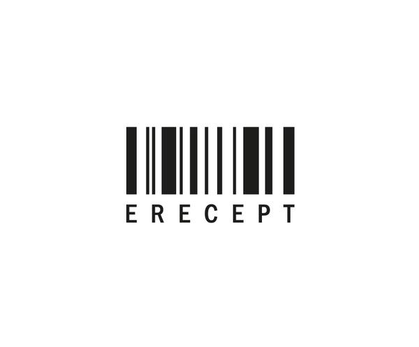 e-Recept - logo cernobile